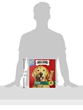 Milk-Bone Original Dog Treats, Cleans Teeth, Freshens Breath for Large Dogs, 10 Lb. Box