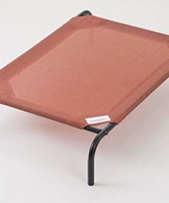 Coolaroo The Original Elevated Pet Bed, Medium, Terracotta