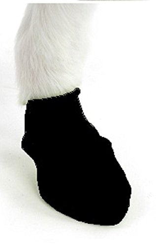Pawz Dog Boots | Dog Paw Protection with Dog Rubber Booties | Dog Booties for Winter, Rain and Pavement Heat | Waterproof Dog Shoes for Clean Paws | Paw Friction for Dogs | Dog Shoes (Black) (L)