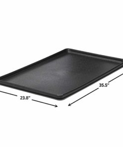 MidWest Homes for Pets Replacement Pan for MidWest Wire Dog Crates | Durable Dog Crate Tray for ALL MidWest Dog Crates, Black, 36 Inch (LS) (8PAN)
