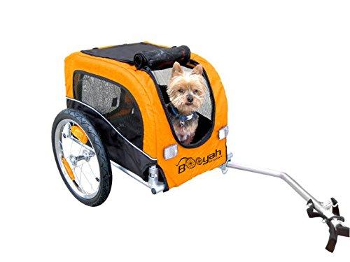 Booyah Small Dog Pet Bike Bicycle Trailer Pet Trailer Orange