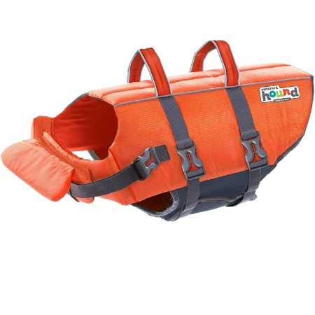 Kyjen Outward Hound PupSaver Ripstop Life Jacket Orange (Large)