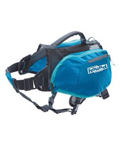 Outward Hound Daypak Dog Backpack Hiking Gear for Dogs, Medium, Blue