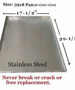 Pinnacle Systems Crate Dog Metal Pan Dog Tray Metal Tray for Dog Crate Pan for Dog Galvanized Tray Heavy Duty Crack Proof – Central Metal 3018 Mini-Fold, Regular Fold – GL – 29 1/2″ x 17 1/2″ x 1″ H