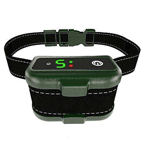 Bark Collar for Dogs – Effective K9 Professional Dog Bark Collar w/ Barking Detection – Rechargeable, Triple Anti-Barking Modes: Shock/ Vibration for Small, Medium, Large Dogs Breeds – IPx7 Waterproof