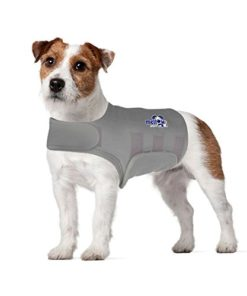 Mellow Shirt Dog Anxiety Calming Wrap, Small, Aluminum