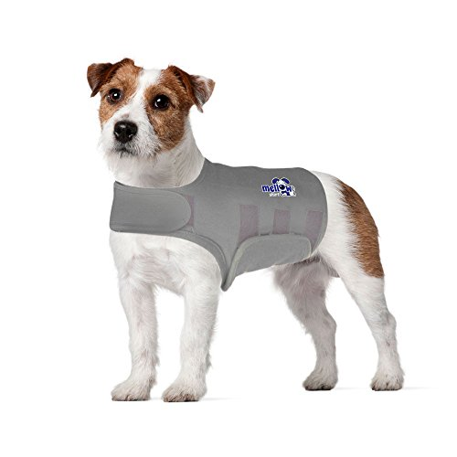 Mellow Shirt Dog Anxiety Calming Wrap, Small, Aluminum
