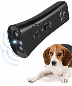Humutan Handheld Dog Repellent, Ultrasonic Infrared Dog Deterrent, Dog Training for Small Medium Large Dogs