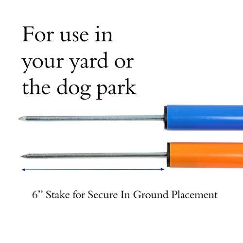 MiMu Dog Agility Equipment – Dog Agility Ring Dog Obstacle Course Agility Set, Dog Agility Training Equipment