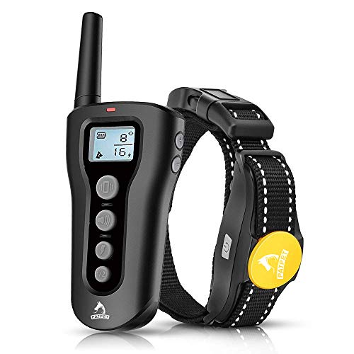 PATPET Dog Shock Collar with Remote – 1000′ Range Shock Collar for Dogs Ipx7 Waterproof Dog Training Collar Fast Training Effect for Small Medium Large Dogs