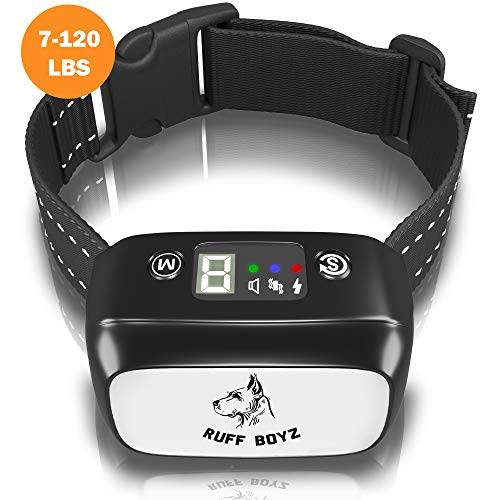 Ruff Boyz Anti-Barking Collar for Small Medium and Large Dogs