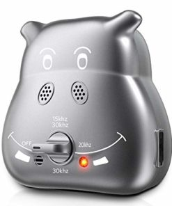 Nest 9 Anti Barking Control Device, Upgrade Outdoor Anti Barking Device, Sonic Bark Deterrents Silencer Stop Barking Bark Stop Repeller(Battery not Included) (K8)
