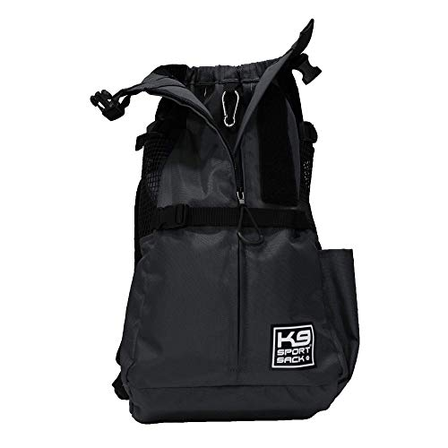 K9 Sport Sack Trainer | Dog Carrier Dog Backpack for Small and Medium Pets | Front Facing Adjustable Dog Backpack Carrier | Veterinarian Approved (X-Small, Irongate)