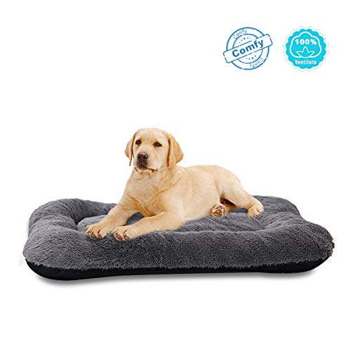 ANWA Dog Bed Medium Size Dogs, Washable Dog Crate Bed Cushion, Dog Crate Pad Medium Dogs 30 INCH