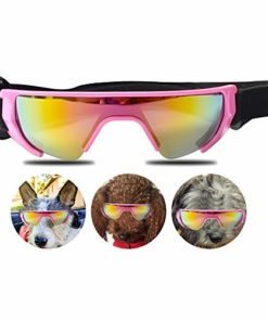 URBEST Dog Goggles, Eye Protection (New Version) for Small Dog Sunglasses Waterproof Windproof UV Protection for Doggy Puppy Cats