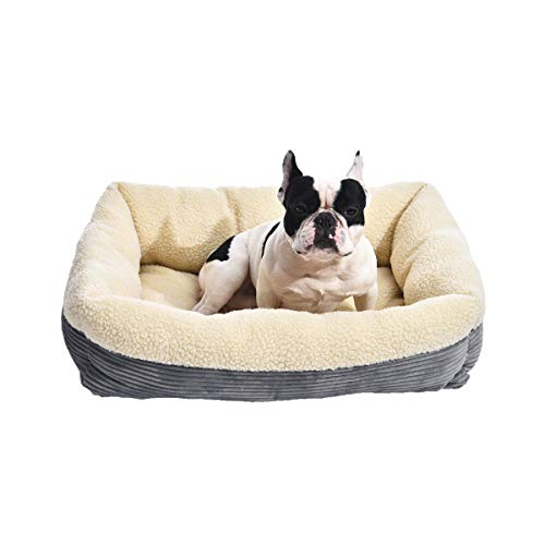 AmazonBasics Rectangle Self Warming Pet Bed For Cat or Dog, 30 x 9 x 24 Inches