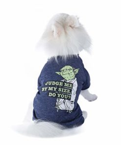 "Star Wars Yoda ""Judge Me By My Size, Do You?"" Dog Tee 