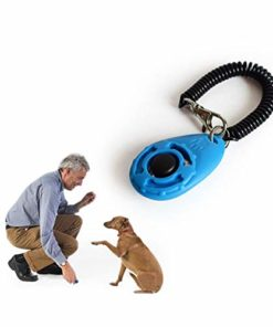 Ruconla- 4 Pack Dog Training Clicker with Wrist Strap, Pet Training Clicker Set