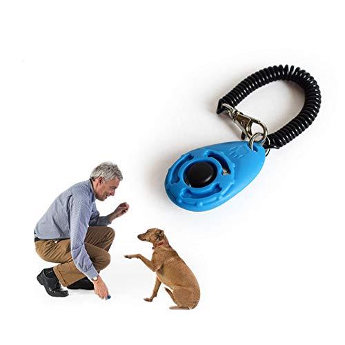 Ruconla- 4 Pack Dog Training Clicker with Wrist Strap, Pet Training Clicker Set