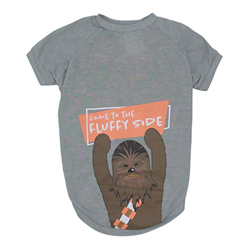 Star Wars Come To The Fluffy Side Chewbacca Dog Tee | Star Wars Dog Shirt for Small Dogs | Small