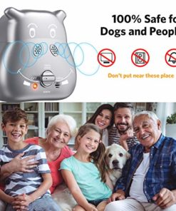 ulocool Anti Barking Device, 2020 New Ultrasonic Dog Bark Deterrent with 3 Adjustable Ultrasonic Volume Levels, Automatic Bark Control Device for Small Medium Large Dog Outdoor