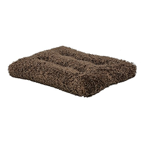 Plush Dog Bed | Coco Chic Dog Bed & Cat Bed | Cocoa 36L x 24W x 2H – Inches for Med. / Large Dog Breeds