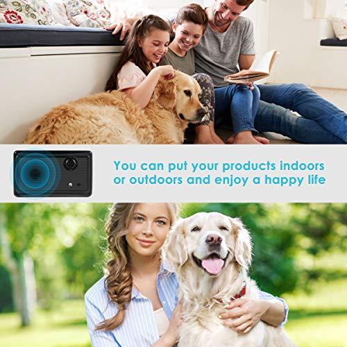 Bark Control Device, Upgraded Mini Bark Control Device Outdoor Anti Barking Ultrasonic Dog Bark Control Sonic Bark Deterrents Silencer Stop Barking Anti Barking Device