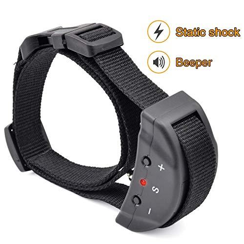 DIY123 2019Lishfun Cute 853 Dog Training Collar Anti Bark Electric Shock for Pet Automatic Adjustable Trainer Necklace