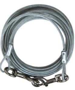 Petmate 1700-Pound Break Strength Tieout Cable, 10-Feet