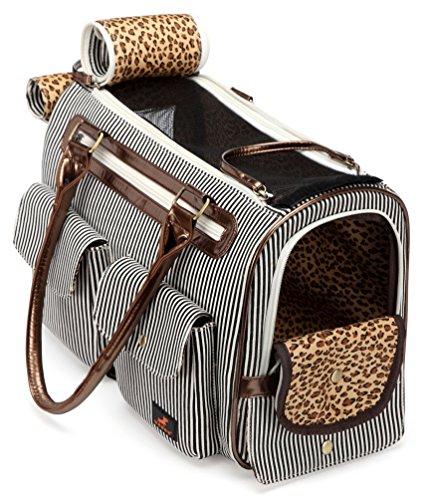 Kenox Fashion Dog Cat Pet Carrier Bags Travel Mesh Tote Handbag