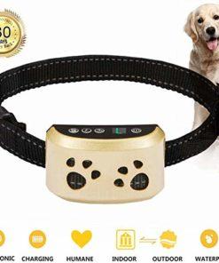 Bark Collar Adjustable Dog Bark Collar Anti-Barking Collar for Small Medium and Large Dogs