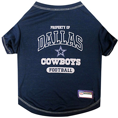 Pets First Dallas Cowboys T-Shirt, Small