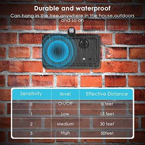 GODCRYSTAL Bark Control Device, Upgraded Mini Bark Control Device Outdoor Anti Barking Ultrasonic Dog Bark Control Sonic Bark Deterrents Silencer Stop Barking Anti Barking Device