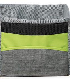 N&M Products Dog Bike Basket/Pet Carrier/Soft Bag with Pockets and Strap