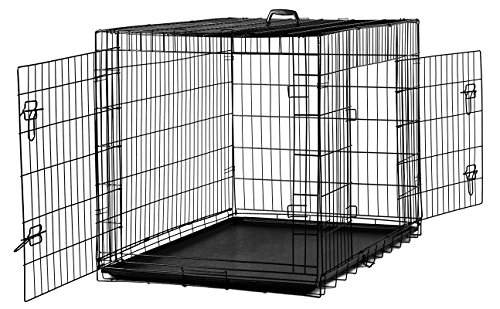 Replacement Tray for Dog Crate Pans – XXX-Large 48 Inch Plastic Bottom Pan Floor Liners for Pet Cages Crates Kennels Dogs Cat Rabbit Ferret Critter Nation Folding Metal Wire Training Cage Liner Trays