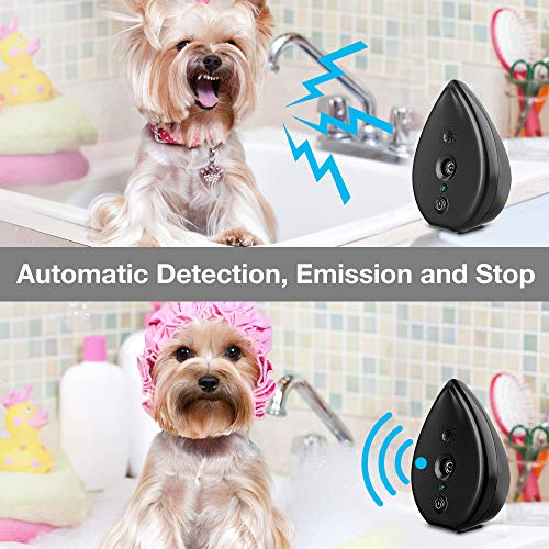 MODUS Anti Barking Device Bark Control Device with 4 Adjustable Ultrasonic Volume Levels, Automatic Ultrasonic Dog Bark Deterrent, Indoor Bark Box Safe, Suitable Dogs