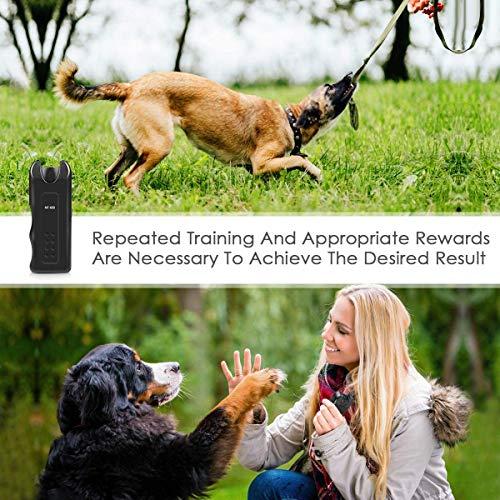 APlus+ Handheld Dog Repellent, Ultrasonic Infrared Dog Deterrent, Bark Stopper + Good Behavior Dog Training