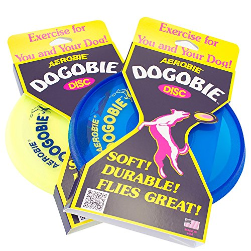 Aerobie 28C12 Dogobie Disc Outdoor Flying Disc for Dogs – Colors May Vary