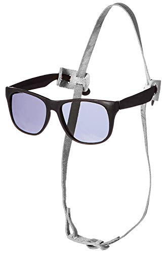 SmartGlassCollar Collar for The Smart Dog Amazingly Holds Sunglasses Comfortably and Securely (Medium/Large, White)