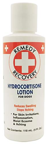 Remedy + Recovery 0.5% Hydrocortisone Lotion for Dogs, 4 oz.