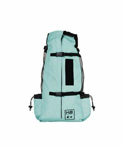 K9 Sport Sack | Dog Carrier Backpack for Small and Medium Pets | Front Facing Adjustable Dog Backpack Carrier | Fully Ventilated | Veterinarian Approved (Medium, Air – Summer Mint)