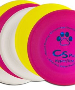 Hyperflite K-10 Pup Competition Standard Dog Disc Four Pack – Assorted Colors