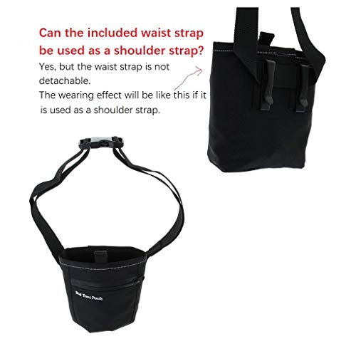 eBasics Dog Treat Pouch for Training Doggie Puppy Treat Snack Bags Reward Pouch Bait Bag Dog Treat Carrier Holder with Clip Waist Belt Magnetic Opening