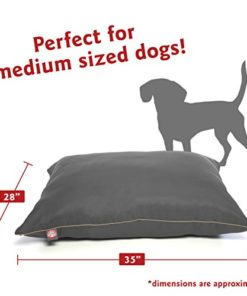 Majestic Pet Super Value Medium Pet Dog Bed, 28″ x 35″, Gray, Gray