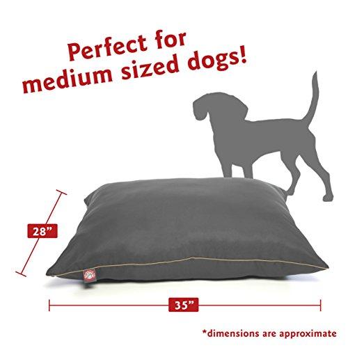 Majestic Pet Super Value Medium Pet Dog Bed, 28″ x 35″, Gray, Gray