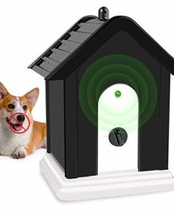 Vitorun Anti Barking Device, Upgrade Ultrasonic Anti Barking, Sonic Bark Deterrents, Humane Bark Control Device, Dog Bark Contrl Outdoor Birdhouse