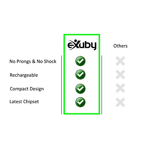 eXuby 2-Pack Friendliest Bark Collar for Small Dogs – No Prongs, No Shock & No Harm – Only Sound & Vibration – Stay in Control with 7 Levels of Intensity – Rechargeable – Most Humane No Bark Collar