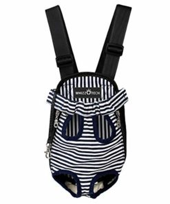 Whizzotech Pet Carrier Backpack, Stripe, Small