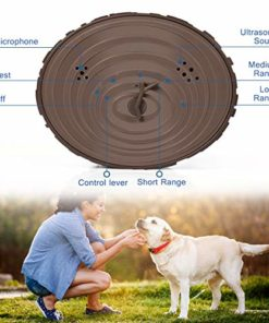 Geohee Bark Control Device, Mini Bark Control Device Indoor/Outdoor Anti Barking Ultrasonic Dog Bark Control Sonic Bark Deterrents Silencer Stop Barking, Dog Bark Control (Upgraded)