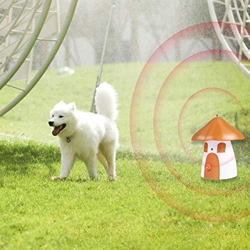 Mimill Ultrasonic Bark Control Device, Anti Barking Device, Sonic Bark Deterrents, Stop Barking Anti Barking Device, Dog Bark Contrl Outdoor Birdhouse